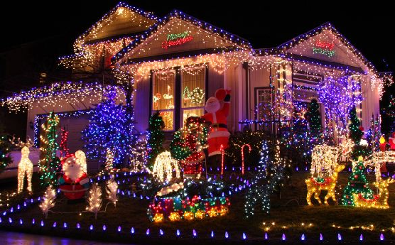 Marvelous Christmas Light Display To Music   Learntoride.co