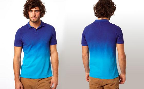 Fashion guide for men dip dyed shirts for Mens dip dye shirt