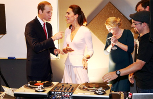 Prince William and Kate Learn To DJ