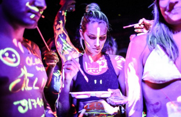 body painting parties a new global trend