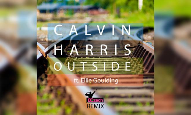 calvin harris ellie goulding outside скачать