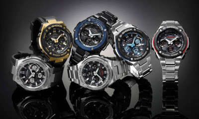 G-Shock gets classy and afforable with G-STEEL