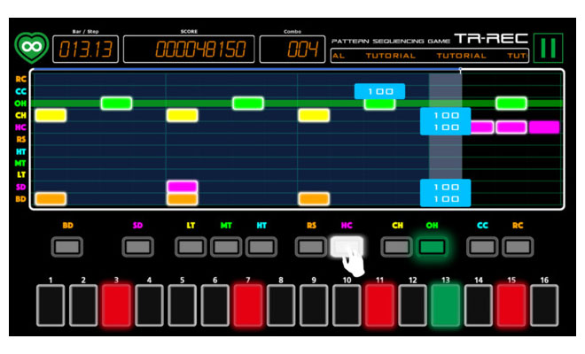 html drum machine