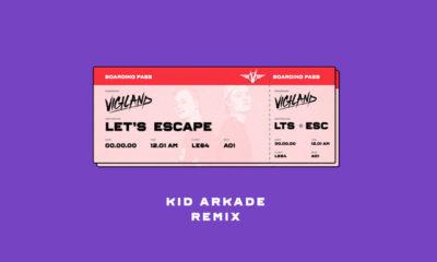Kid Arkade Returns With A Huge Remix For Vigiland