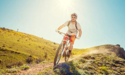 How Can Stylish Men Ride A Mountain Bike On The Road?