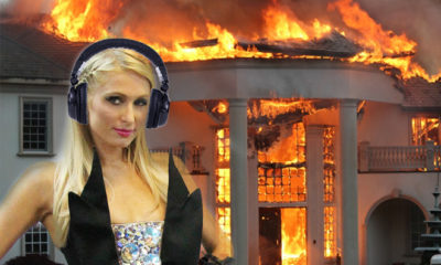 Was The Mansion Of DJ Paris Hilton Swallowed By Flames?