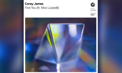 "Corey James Is Back on Protocol With Progressive Gem ""Find You"" ft. Nino Lucarelli"