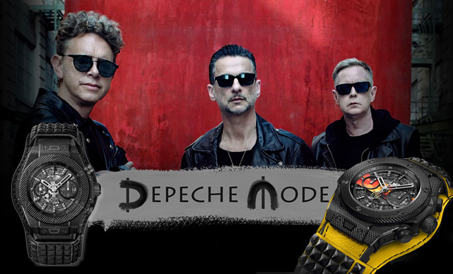 Depeche Mode Watches To End The Global Water Crisis