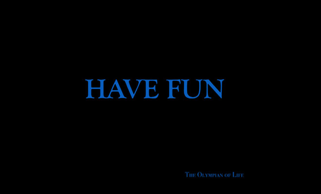 The Olympian Of Life Uploads A Must Listen EP, 'Have Fun'
