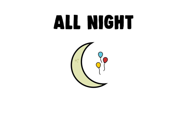 "Birthdayy Partyy Releases New Single ""All Night"" For Free Download!"