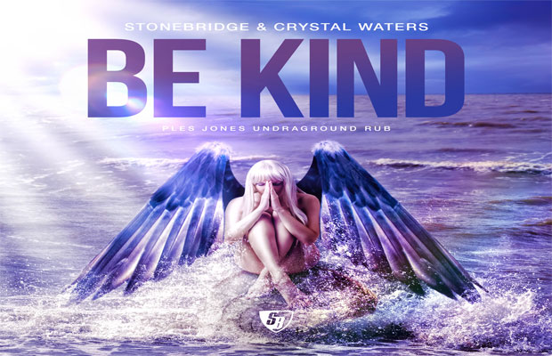 "DJ Plez Jonez Premieres Remix of StoneBridge & Crystal Waters' ""Be Kind"""