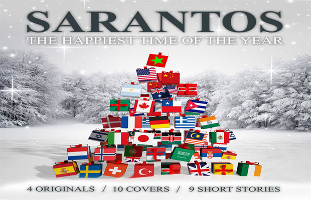 "Sarantos new Christmas CD ""The Happiest Time Of The Year"" is out!"