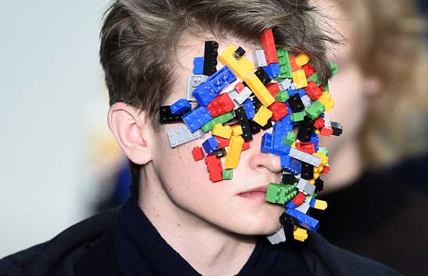 Here's A Weird Fashion Trend - LEGO Masks