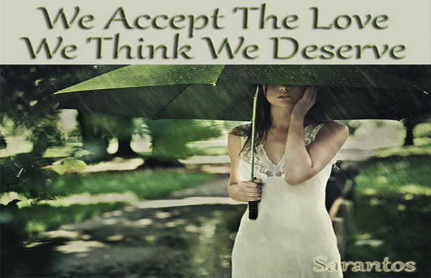 """Sarantos New Rock Song """"We Accept The Love We Think We Deserve"""" Is Here!"""