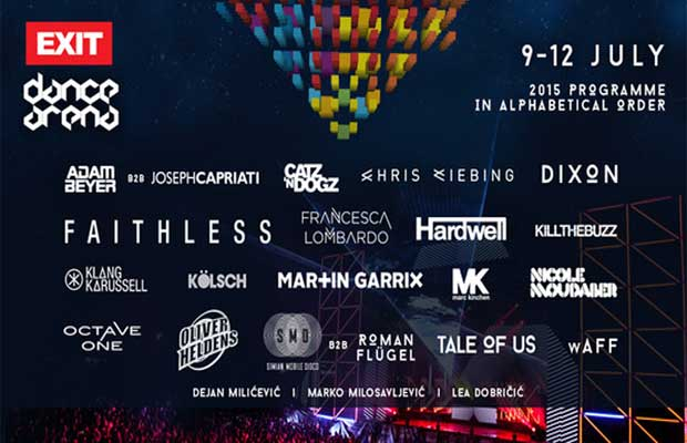 Exit's 15th Anniversary Will Be Celebrated With The Biggest Names In Electronic Music