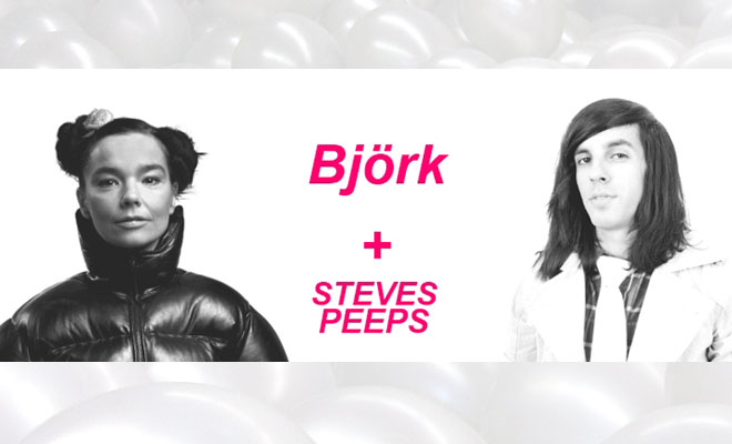 Björk Working With Steves Peeps On Fashion