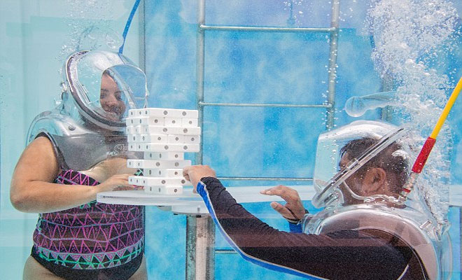 Meet The World's First Underwater Oxygen Bar
