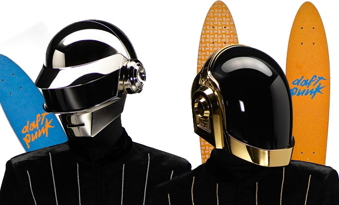 Daft Punk's New Skateboards SOLD OUT
