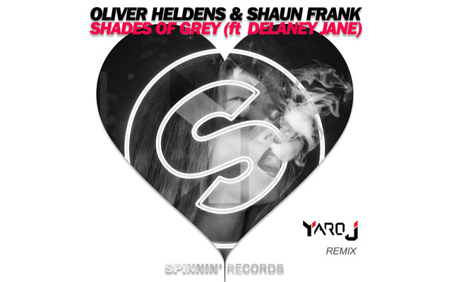 """A Dance Remix of Oliver Heldens & Shaun Frank """"Shades of Grey"""" Ft. Delaney Jane by Yaro J"""
