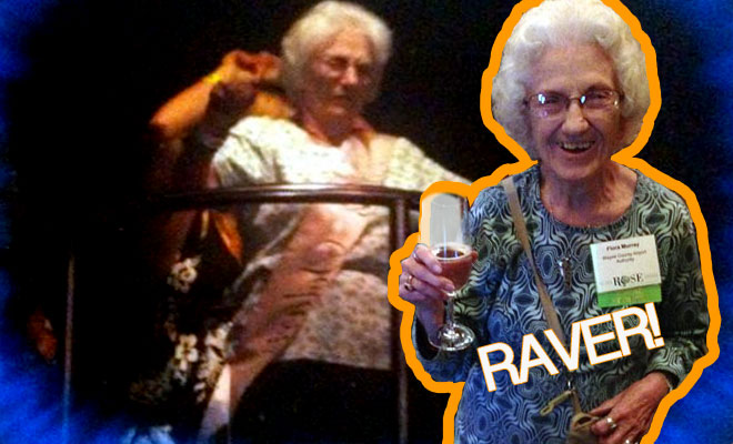 Aged 92 & Cage Dancing!!!