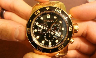Mens Gold Watches