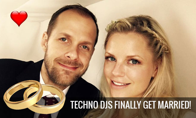 Techno DJs Adam Beyer And Ida Engberg 'MARRIED' In Secret Ceremony