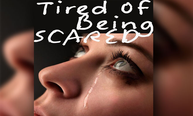 "Sarantos Continues His Edgy Experimentation And Releases A New Song As A Tribute To David Bowie - ""Tired Of Being Scared"""