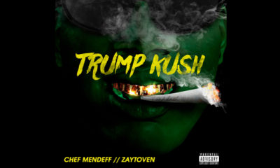 """South Central L.A. Artist Releases A Controversial Record Titled """"Trump Kush"""""""