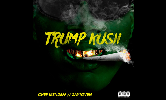 "South Central L.A. Artist Releases A Controversial Record Titled ""Trump Kush"""