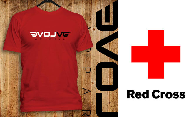 red cross shirts