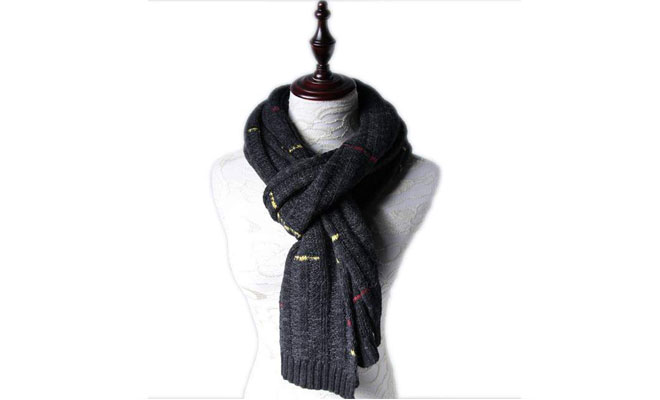 Checked Statement Scarf