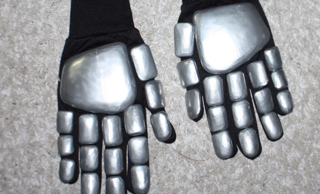 gloves daft punk