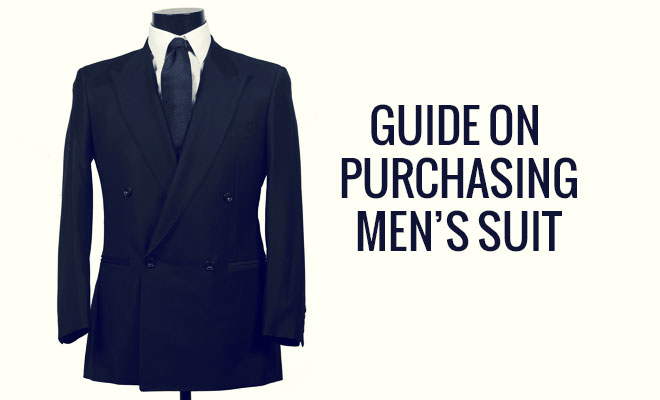 Guide On Purchasing Men's Suit