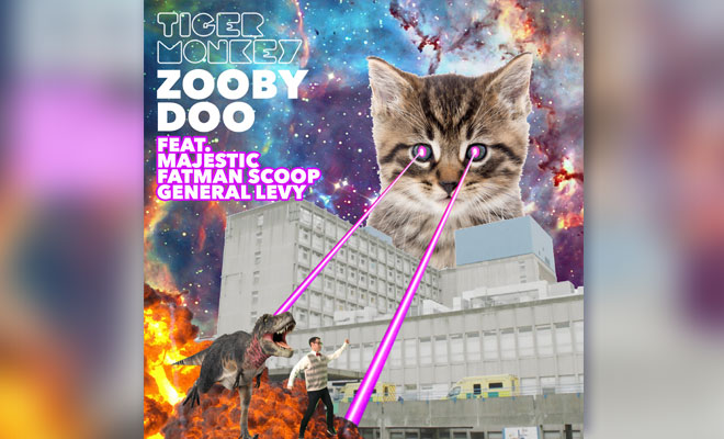 "Tigermonkey Team Up With Majestic, Fatman Scoop & General Levy For ""Zooby Doo"""