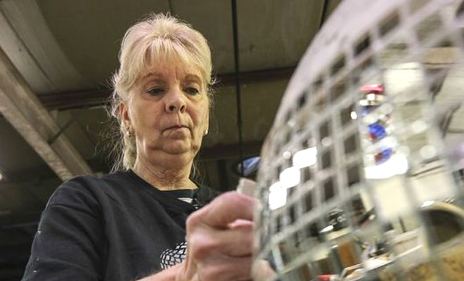 This Woman Has Been Constructing Disco Balls For Nearly 40 Years