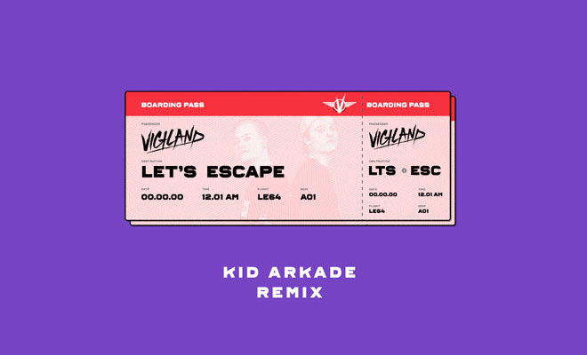 Kid Arkade Returns With A Huge Remix For Vigiland