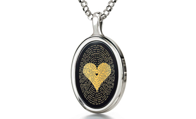 heart necklaces for girlfriend