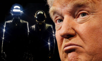 That Awkward Moment When A Military Band Plays Daft Punk To Donald Trump...