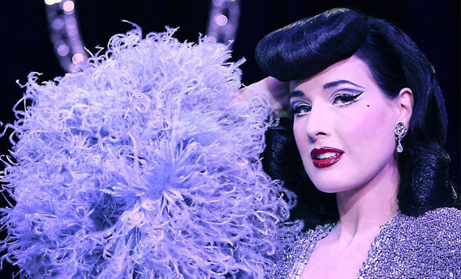 Dita Von Teese Ventures Into Electro Pop Music With The Help Of Sébastien Tellier