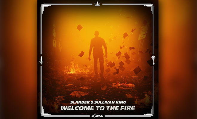 "SLANDER And Sullivan King Release Intense Bass-and-Metal Single ""Welcome To The Fire"""
