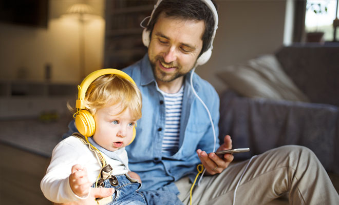 Introduce your child to new types of music