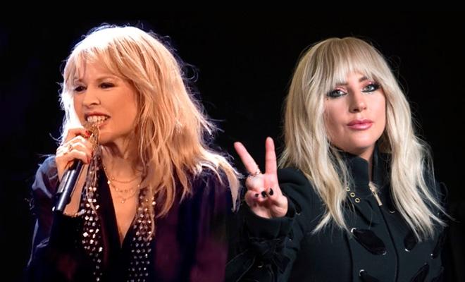 Kylie Minogue Seeks Collaboration With Lady Gaga