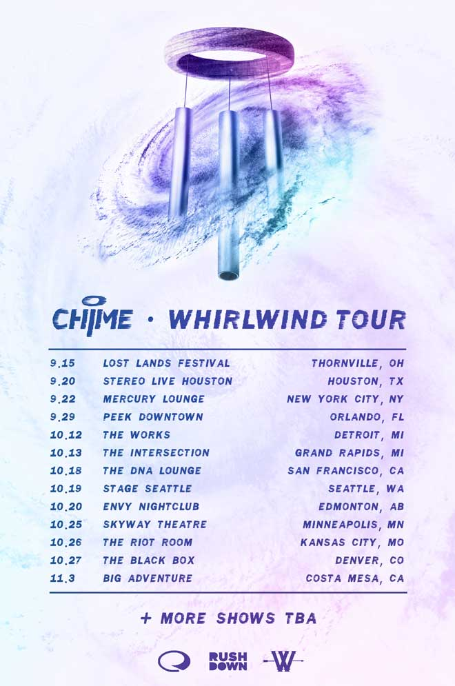 chime whirlwind tour