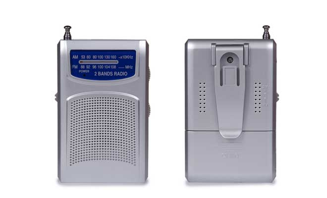 Battery-powered radios