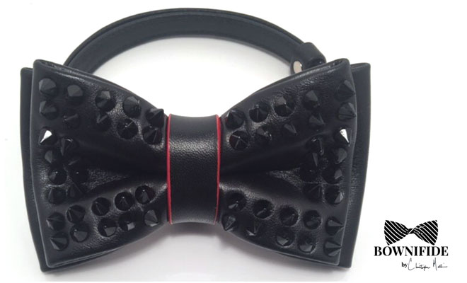 spiked bowtie