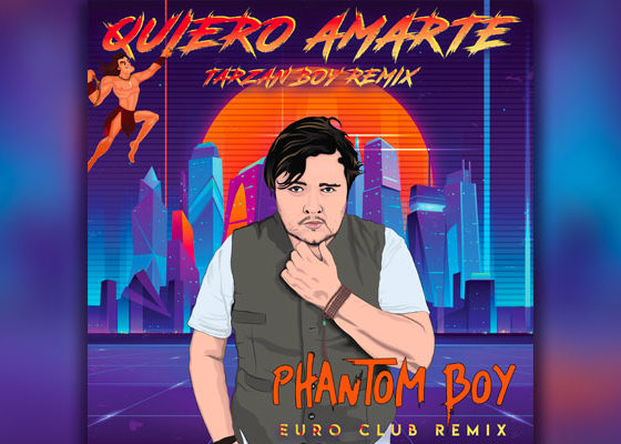"Phantom Boy Previews Forthcoming ""Quiero Amarte"" Euro Club Mix"