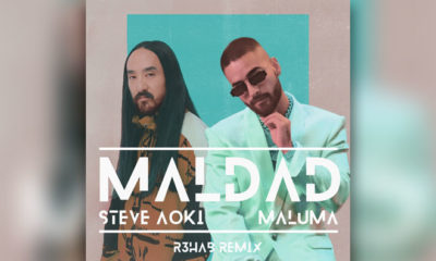 "R3HAB Turns Up The Heat On Remix Of Steve Aoki & Maluma's ""Maldad"""