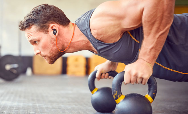 Crossfit headphones benefits