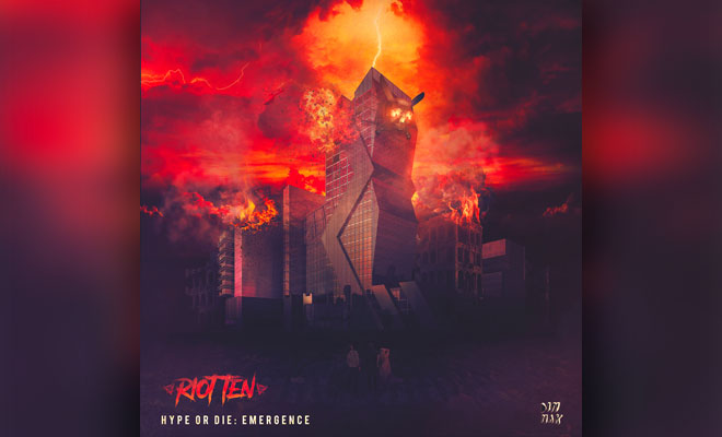 "Riot Ten Releases Genre-Bending 7-Track ""Emergence"" EP On Dim Mak Records"