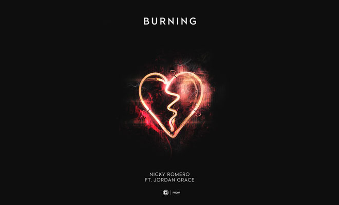"Nicky Romero's '80s Inspired New Club Single ""Burning"" Ft. Jordan Grace"
